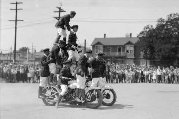 Vintage Vancouver Motorcycle Photos
