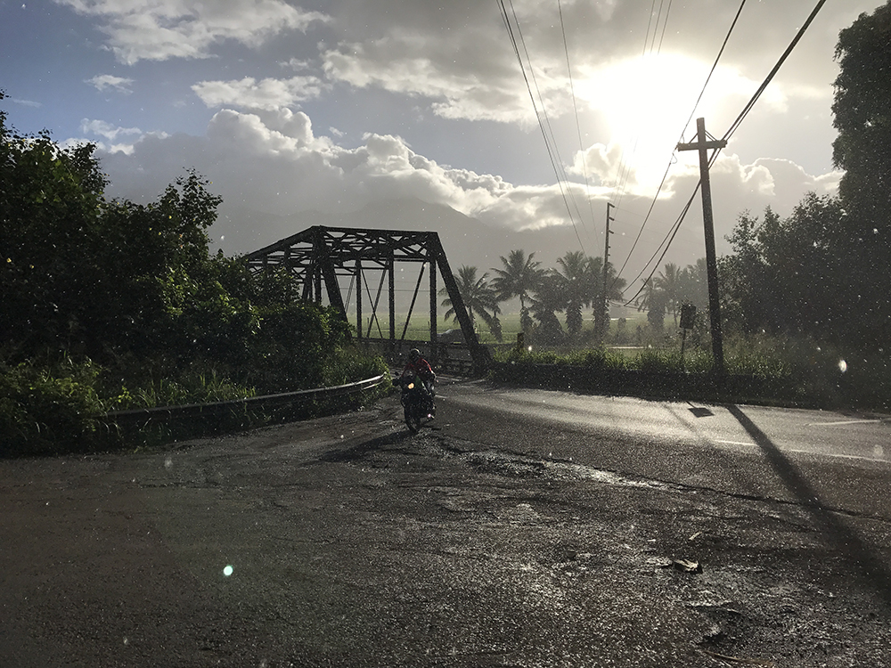 Kauai Motorcycle Rental - Hanalei Bridge