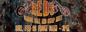 Reds Garage Sale and Swap