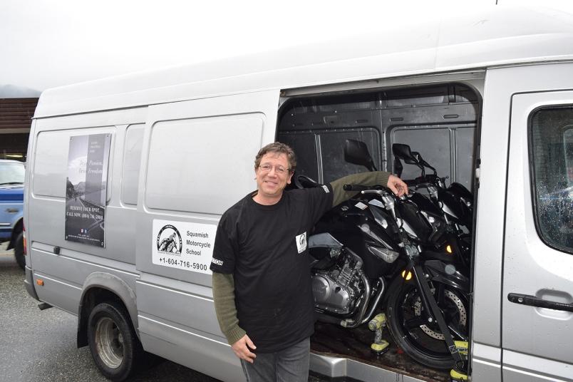 Hilton Jacobs Motorcycle School Squamish