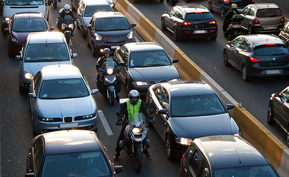Lane Splitting California