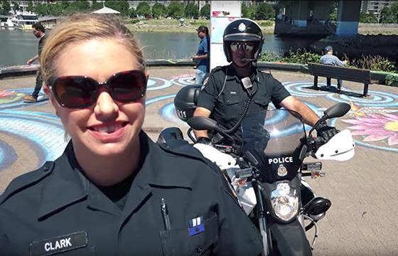 VPD Vancouver Police Zero Motorcycles