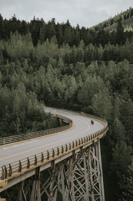 Route 16 Motorcycle Tour - McBride, BC