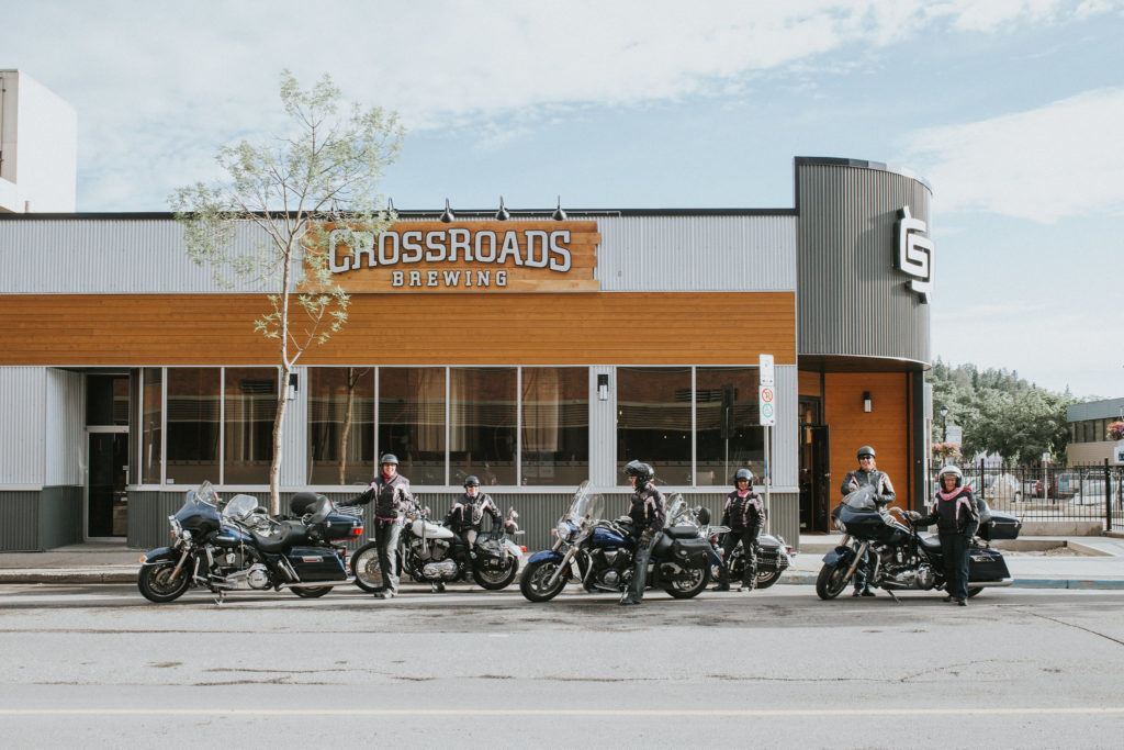 Route 16 Motorcycle Tour - Crossraods Brewery