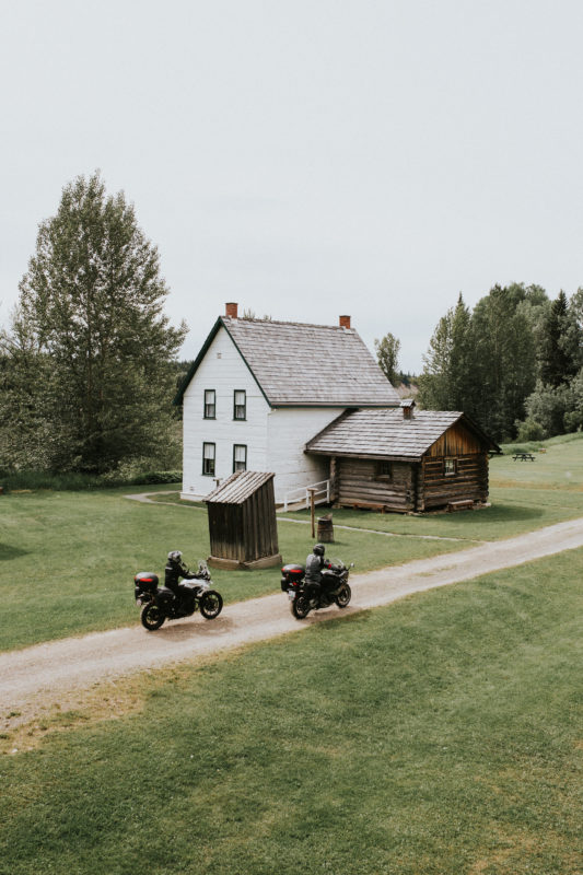 Route 16 Motorcycle Tour - Huble Homestead